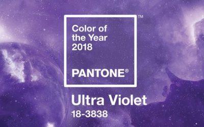 La couleur de l'année 2018 sera …
